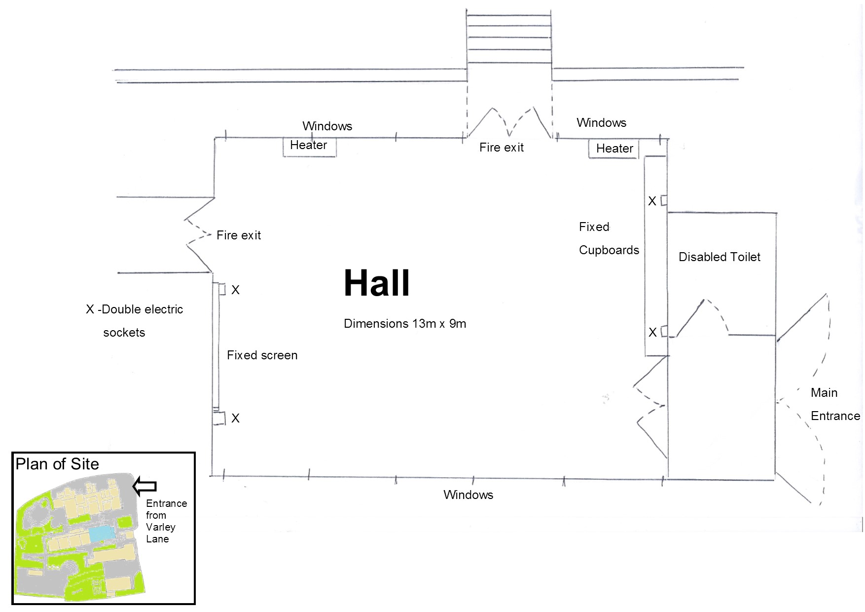 Venue Hire  Liskerrett Community Centre - Dimensions of disabled toilet