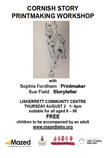 Cornish Story Printmaking Workshop